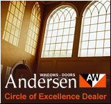 Andersen Circle of Excellence Dealer